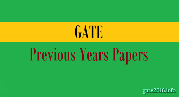 Gate Previous Question Papers With Solutions For Civil Pdf