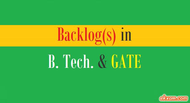 backlog btech gate