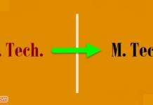 b.tech m.tech