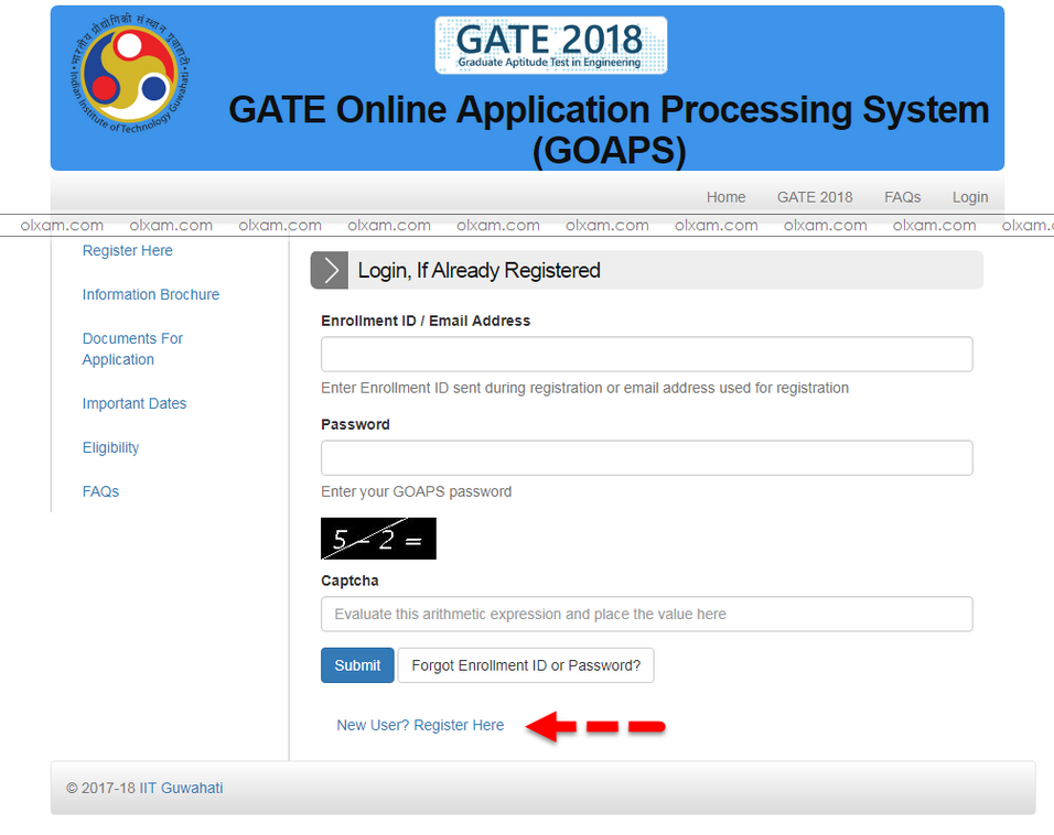 GATE 2019 Image: How To Fill GATE 2019 Online Application Form ? (with
