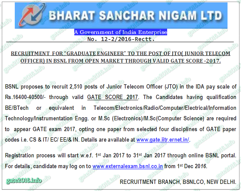 bsnl-jto-through-gate-2017-4