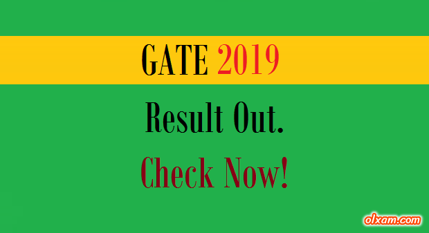 Image result for Gate 2019: Know the last year's cut-off for all the streams