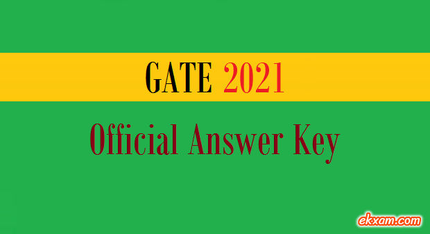 GATE Answer Key 2021