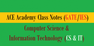 ace academy class notes cs