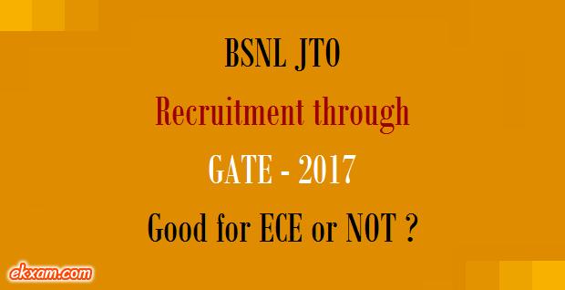 bsnl jto recruitment gate