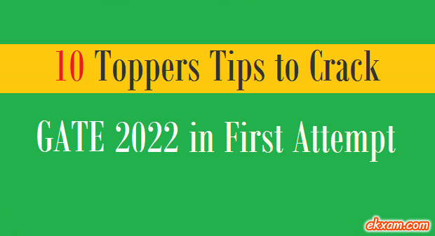 10 toppers tips crack gate