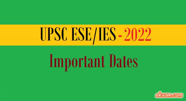 ies 2022 important dates