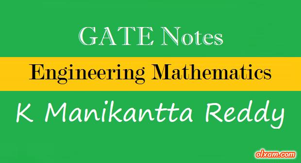 PDF] Engineering Mathematics Notes - K Manikantta Reddy