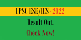 ies 2022 result