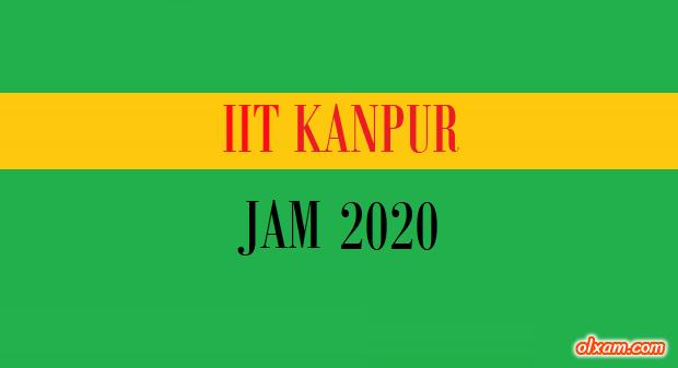IIT JAM 2020 gate2016.info