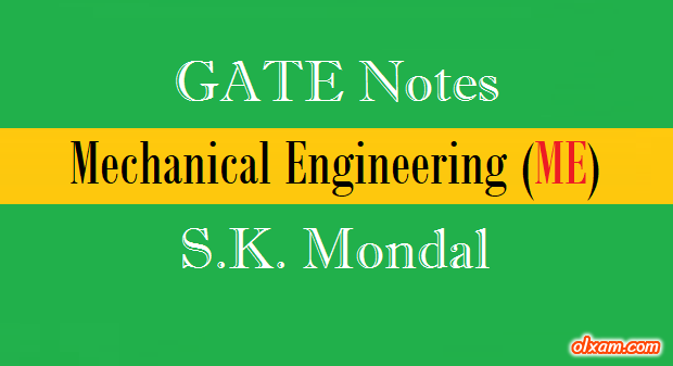 28 PDF] S K Mondal Handwritten Notes – ME (GATE/IES)