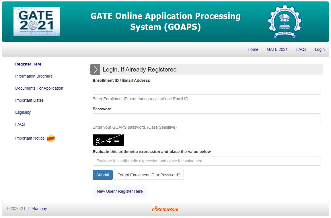 GATE GOAPS 1