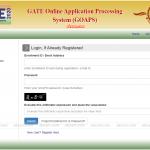 GATE JOAPS