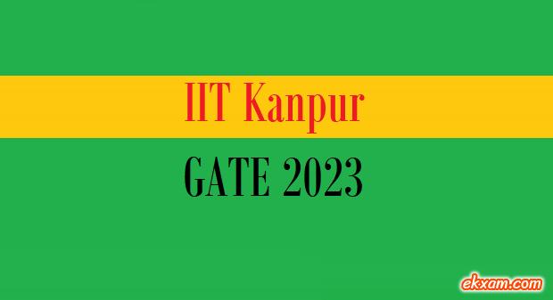 iit kanpur gate 2023