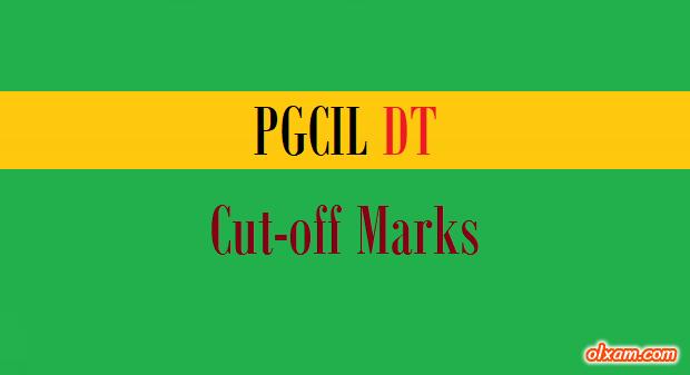 PGCIL DT Cut off Marks