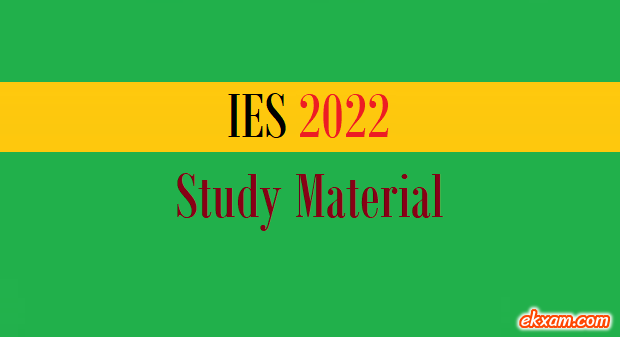 ies 2022 study material