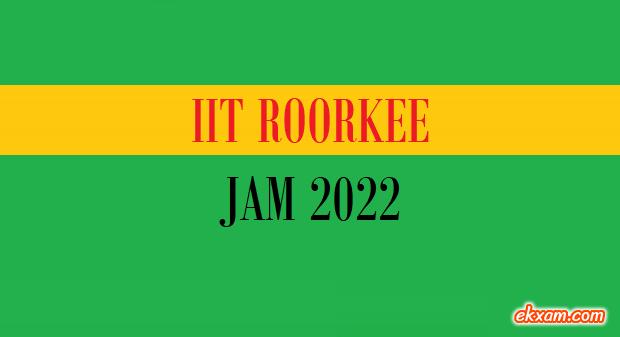 IIT JAM 2022 ekxam.com