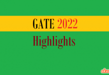 GATE Paper Highlights 2022