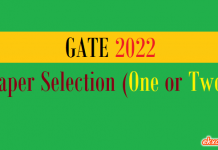 GATE Paper Selection 2022