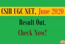 csir ugc net result june 2020