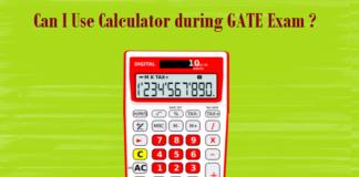 can use calculator gate exam