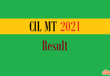 cil mt result
