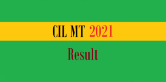 cil mt result