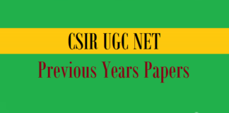 csir ugc net previous years papers