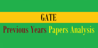 gate previous years papers analysis