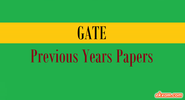 gate previous years papers