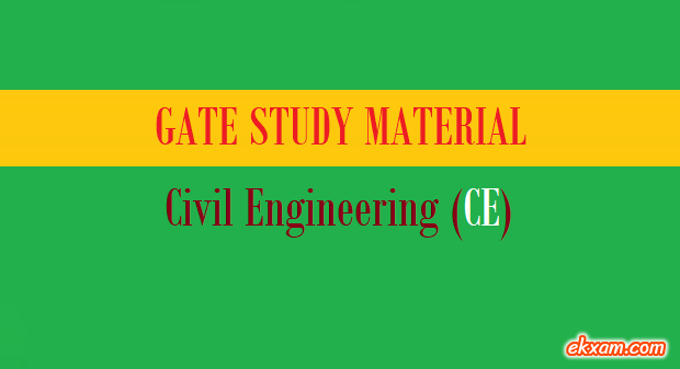 gate study material ce