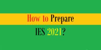 how prepare ies