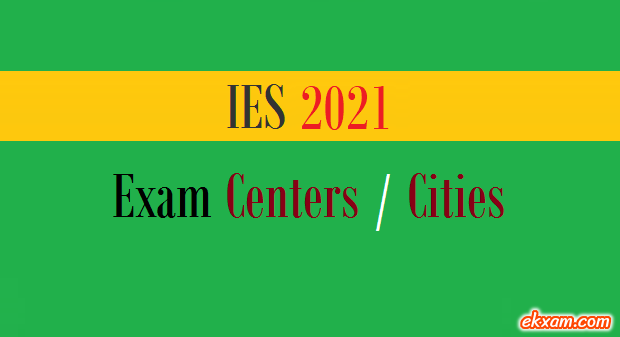ies exam centers cities