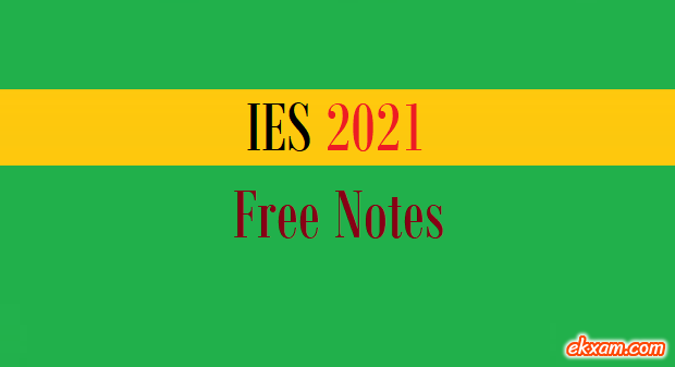ies free notes