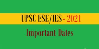 ies important dates