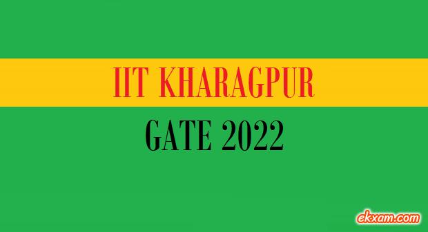 iit kharagpur gate 2022