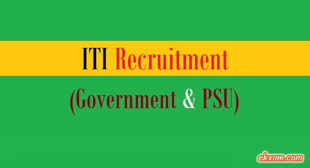 iti recruitment government psu