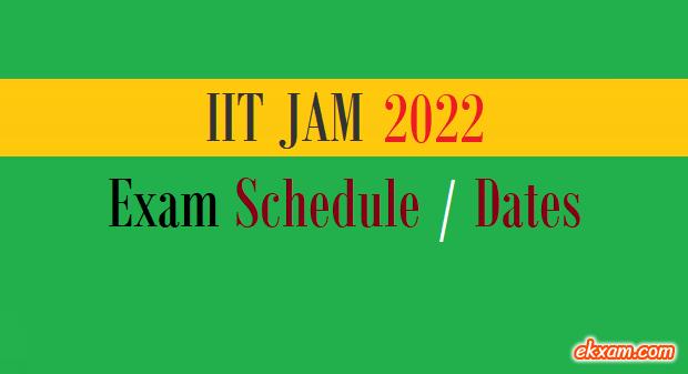 jam exam dates
