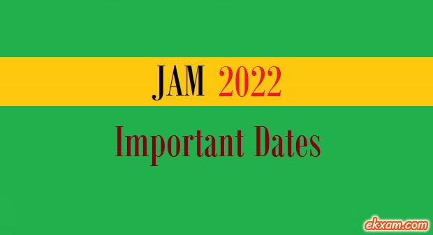 jam important dates