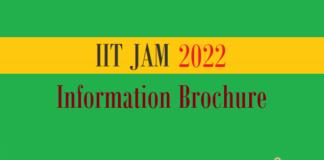jam information brochure
