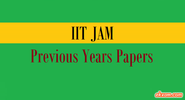 jam previous years papers