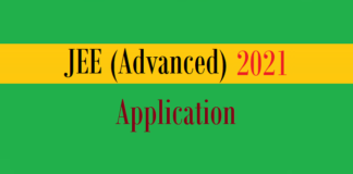 jee advanced application