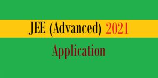 jee advanced application