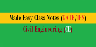 made easy class notes ce