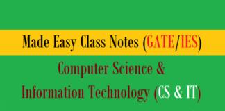 made easy class notes cs