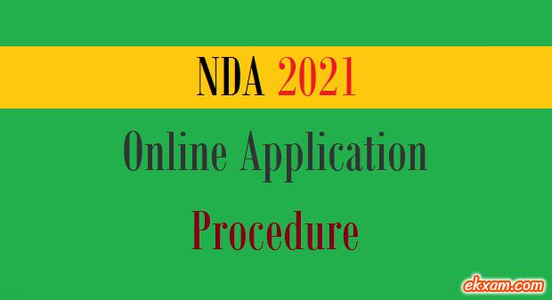 nda online application procedure