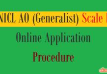 nicl ao generalist online application procedure