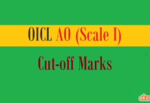 oicl ao cut off marks