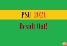 psu result