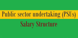 psus salary structure